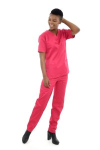 Pink Medical Scrubs Home Page